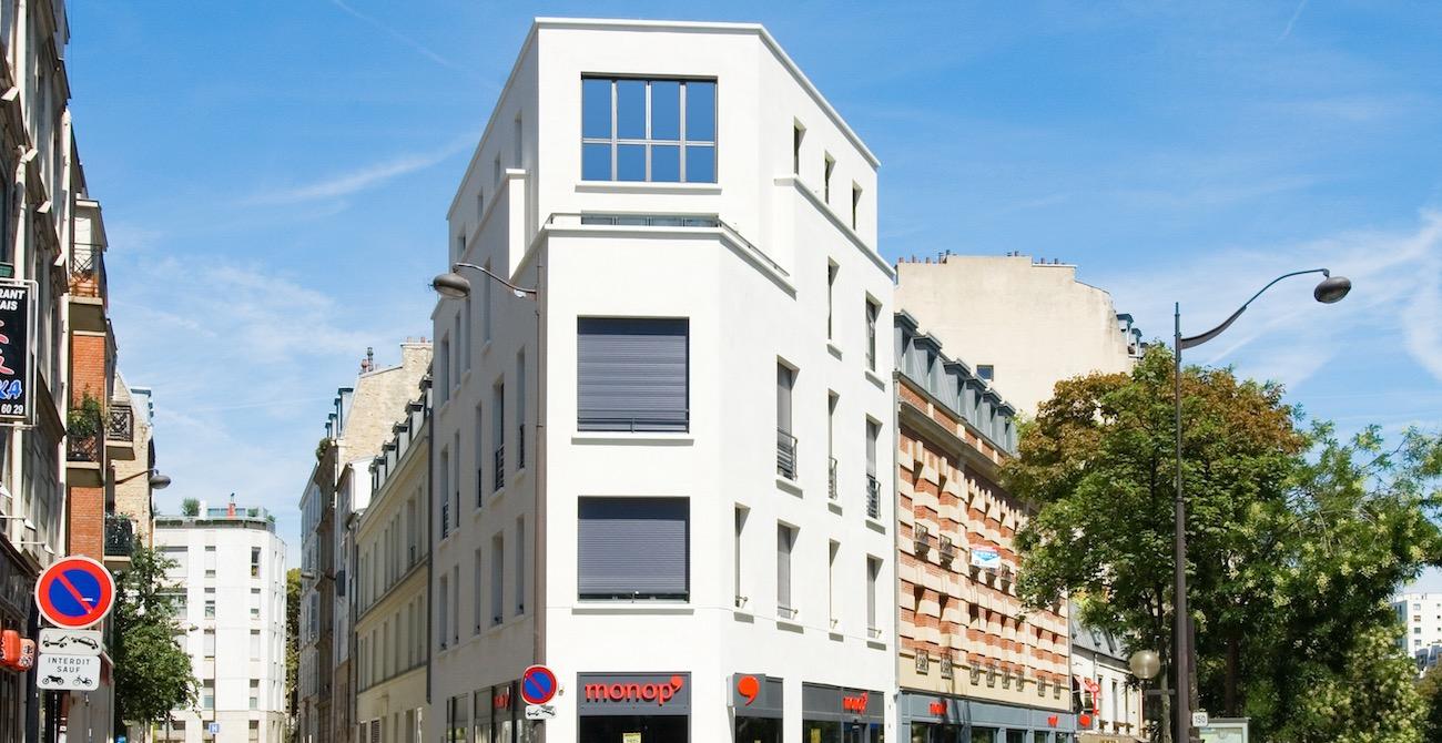 Programme immobilier Paris XVI avenue de Versailles
