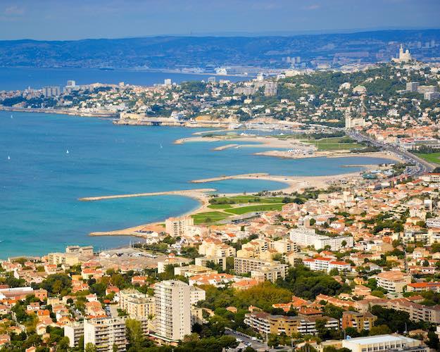Marseille - Le Prado - Plage du Prado